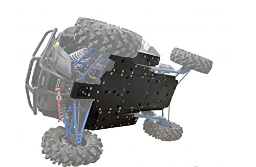 SuperATV Heavy Duty 1/2' ARMW Full Skid Plate for Polaris RZR XP Turbo (2016+) - Full Machine Protection!