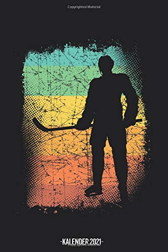 Eishockey Kalender 2021: Eishockey Kalender 2021 Geschenk Lustig / Eishockey Taschenkalender 2021 / Terminplaner 2021 / Jahresplaner 2021 / DIN A5 12 ... bis Dezember / Jede Woche eine Seite