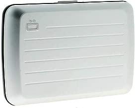 Ogon Silver Aluminium For Unisex - Card & ID Cases