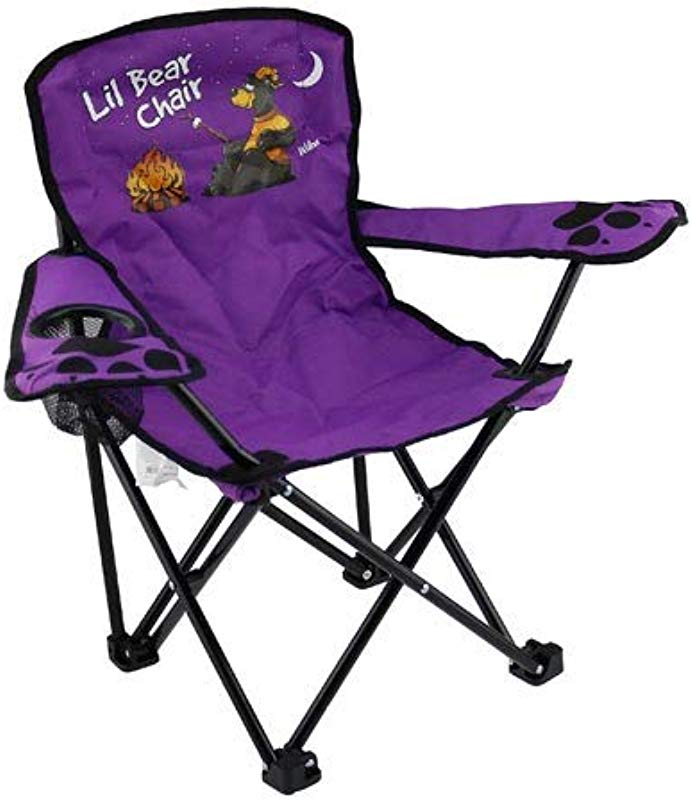 Kids Folding Camp Chair Ages 2 6 Camping Bear Color Varies