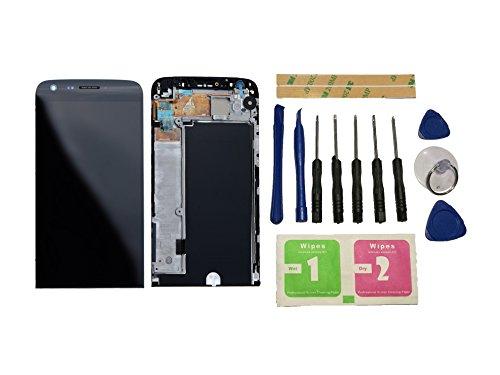 Flügel für LG G5 H850 H820 H830 H831 LS992 Display LCD Ersatzdisplay Schwarz Touchscreen Digitizer BIldschirm Glas Komplett Einheit mit Rahmen Ersatzteile & Werkzeuge & Kleber