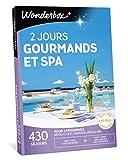 Wonderbox - Coffret cadeau couple - 2 JOURS GOURMANDS (escapade gourmande) ET SPA – 430 séjours en hôtels-spa, châteaux