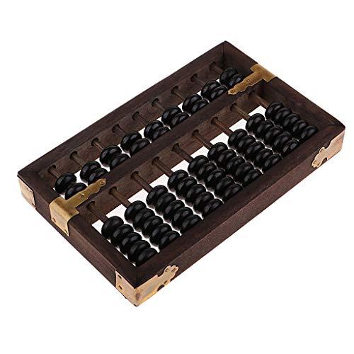 SM SunniMix Ábaco Chino de Madera - Calculadora de Madera Tradicional, Suanpan Chino Vintage