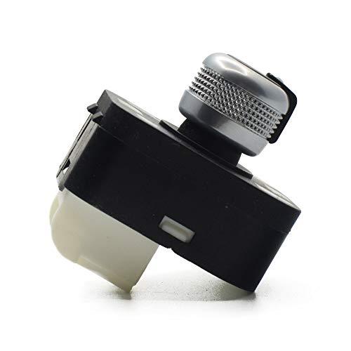 CROSYO Interruptor de Espejo Lateral 1PC sin Mando de Ajuste de floding for Audi A4 S4 B6 A6 Quattro Q7 R8 TT RS4 2001-2012 4F0959565A / 4F0 959 565A