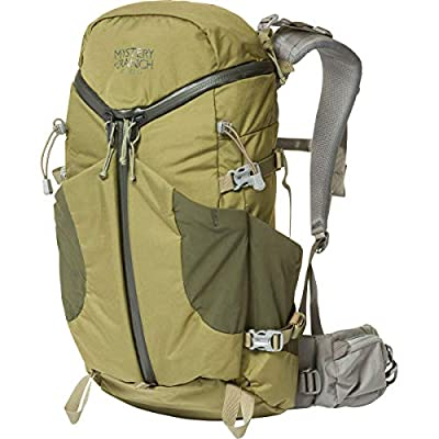MYSTERY RANCH Coulee 25 Backpack - Daypack Built-in Hydration Sleeve, Forest, LG/XL