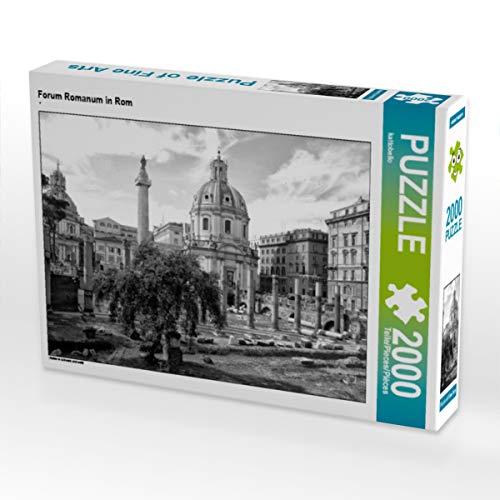CALVENDO Puzzle Forum Romanum in Rom 2000 Teile Lege-Größe 90 x 67 cm Foto-Puzzle Bild von Kattobello