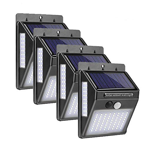 GKJRKGVF 4 100 LED zonnelampen buitenverlichting menselijk lichaam inductie sport zonnelampen tuindecoratie waterdicht pad solar wandlampen