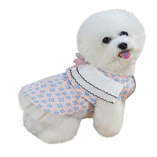 Sunnymi - Falda delgada transpirable para mascotas para primavera y verano
