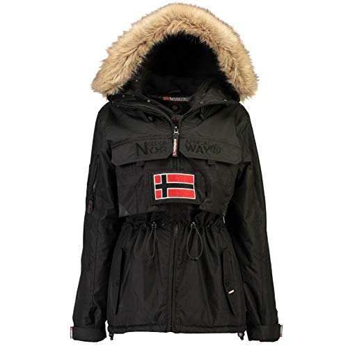 Geographical Norway Parka DE Mujer BELLACIAO Negro L