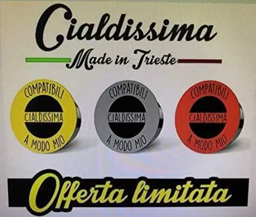 """100 CAPSULE Caffè Cialdissima compatibili LAVAZZA A MODO MIO®!""""LE ARABICHE"""" LINEA ESPRESSO BAR! TRE GUSTI MISTI 100% ARABICA!"""