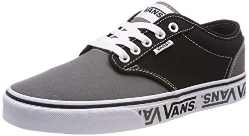 Vans Men's Atwood Low-Top Sneakers Shoes (8.5) Black