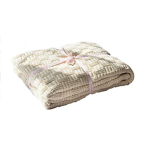 CRXL shop-elektrische dekens Gebreide deken, stijlvolle gebreide deken voor tv of dutje op de stoel, bank en bed, onderhoudsvriendelijke machine wasbaar, kreukbestendig/anti-verkleuring
