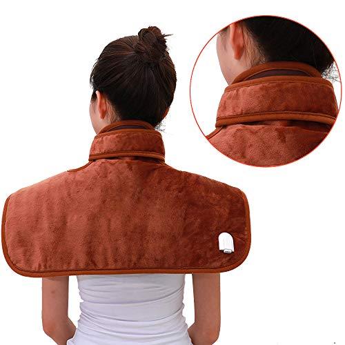 Heated Blanket Almohadilla Protectora Térmica, Protector De Envoltura para El Cuello, Alivio del Hombro Y Malestar Cervical