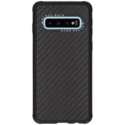 Black Rock - Hülle Robust Case Real Carbon passend für Samsung Galaxy S10 | Karbon, Handyhülle, Dünn, Fiber, Cover (Carbon Schwarz)