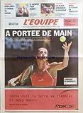 EQUIPE (L') [No 18842] du 27/01/2006 - FOOTBALL - EURO 2008 - LA FRANCE VA SAVOIR - LE JACKPOT POUR HENRY - HANDBALL - LES BLEUS DEMARRENT EN DOUCEUR - FORMULE 1 - ROSSI ET FERRARI CA S'ACCELERE - A PORTEE DE MAIN - L'ODYSSEE DE BAGHDATIS