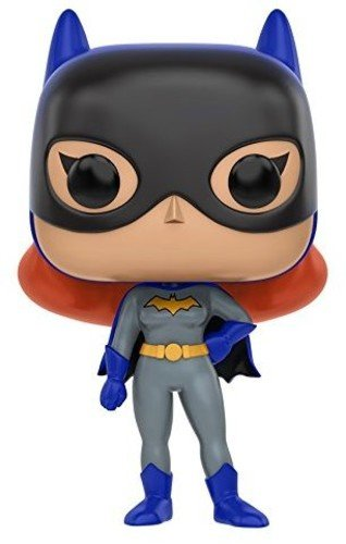 Funko Batman The Animated Series Batgirl Pop Heroes Figure,Multicolor,3.75 inches