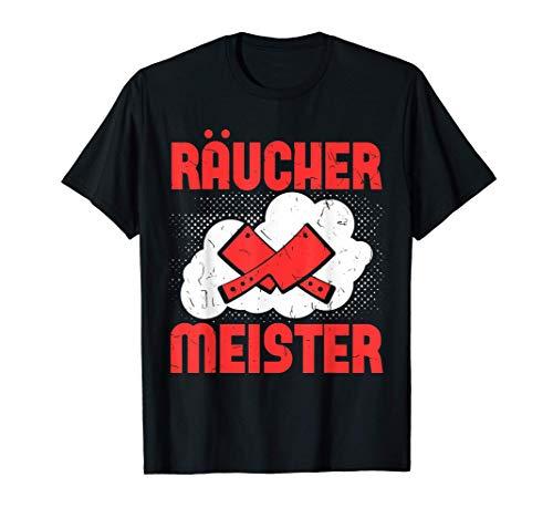 Räucher Meister Räuchergrill Watersmoker Grillmeister T-Shirt