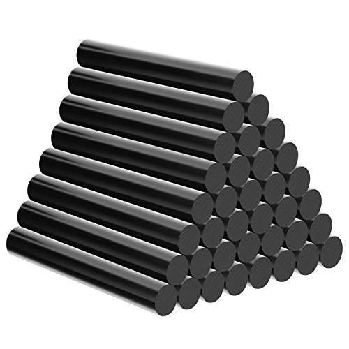 Black Hot Glue Sticks, Enpoint 3.93 x 0.43 in Full Size Hot Melt Glue Sticks Dent Repair Tool Glue Sticks EVA Colored Hot Melt Adhesive Glue Sticks for Car DIY Art Craft General Repairs 36 Pack