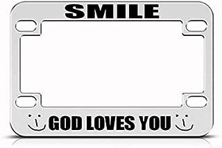 phygthoug License Plate Frame Black- Custom Vanity Design Corful License Plate Frame 12×6 in