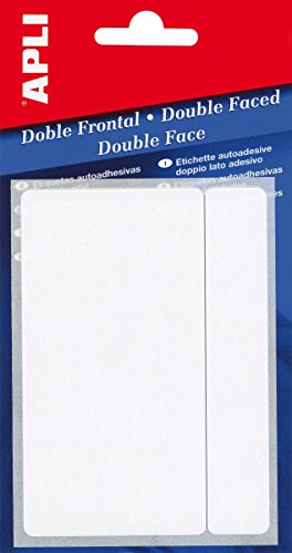 APLI 2546-Etiquetas doble frontal blancas 13