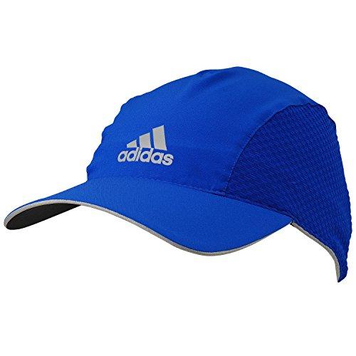 adidas Run CLMCO Cap - Gorra Unisex, Color Azul/Plata, Talla OSFM