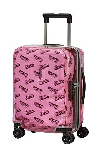 Samsonite Neopulse Barbie - Spinner XS Valigia per Bambini, 45 cm, 26 L, Rosa (Barbie Transparent Pink)