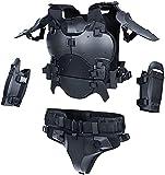 YUTING Combinaison d'armure tactique Airsoft multifonction extérieure gilet tactique militaire Molle, combinaison de protection de...