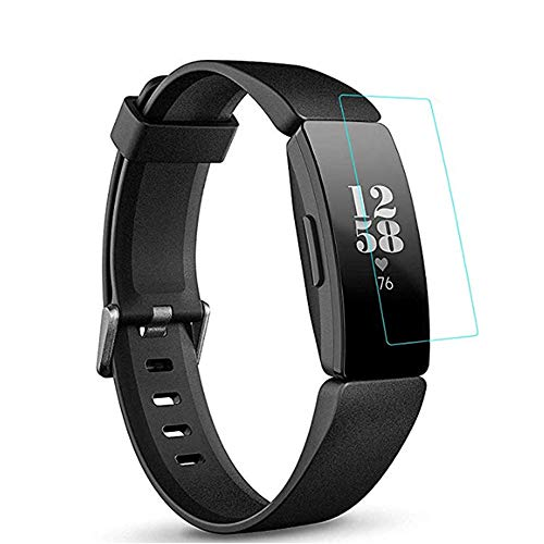 [3 Pack] Screen Protector for Fitbit Inspire/Inspire HR, Ultra Thin Flexible SoftProtector Film for Fitbit Inspire hr Smartwatch