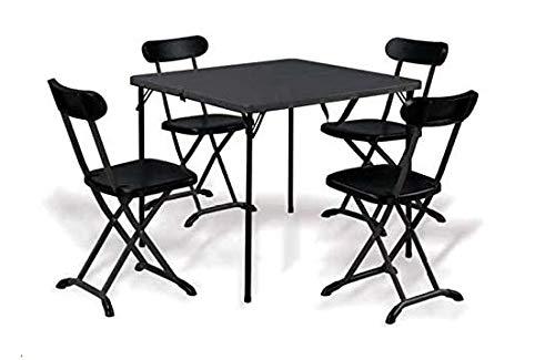 Import Mesa con sillas Plegables para Camping y jardín