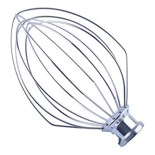 Poweka - Frusta a filo K5AWW per Kitchen-Aid 18,5 cm vero professionale Bowl Lift Stand Mixer 5QT – Sostituire WPW10731415
