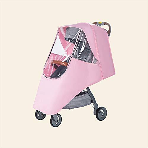 MOZUN Toldo de cochecito de bebé, cubierta de lluvia para cochecito, parasol universal para cochecito, paraguas móvil para cochecito