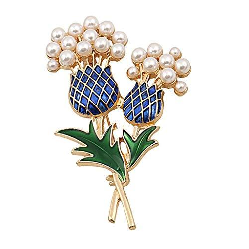 DAGONGREN Female Pineapple Tree Brooch ,Ladies Alloy Elegant Brooch Dress Bag Decoration Pin Accessory