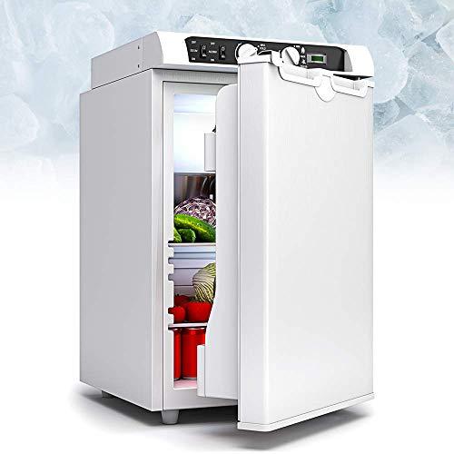 Bluefin 3-Wege Mini Absorber-Kühlschrank | Kühl-/ Gefrierschrank Kombination 43 Liter | 60 Liter | AC | DC | Gas & Strom | 12v | 230v | LPG | Essen, Getränke, Wein