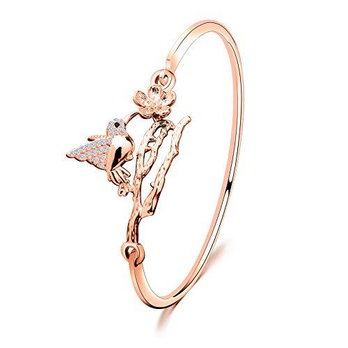Rose Gold Bird Bracelet