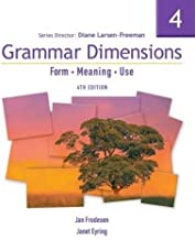 Best grammar dimensions form meaning and use Reviews