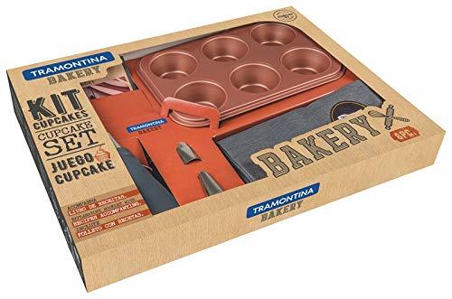 Kit Para Cupcake Tramontina Bakery Tramontina Cinza