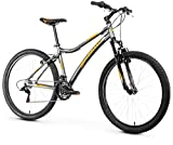 Anakon Premium Bicicleta de montaña, Hombre, Gris, L