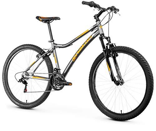 Anakon Premium Bicicleta de montaña, Hombre, Gris, M