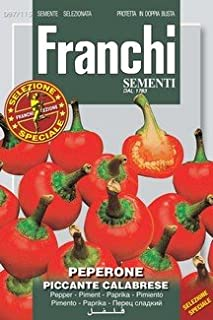 Italian Heirloom Pepper - Piccante Calabrese by The Heirloom Seed Store