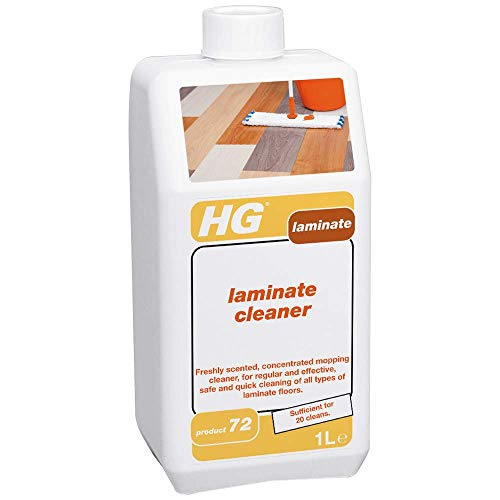 HG 349100106 Laminate Cleaner 1L – Fresh-smelling Concentrated Floor Cleaner - for Regular Use - for All Laminate Types