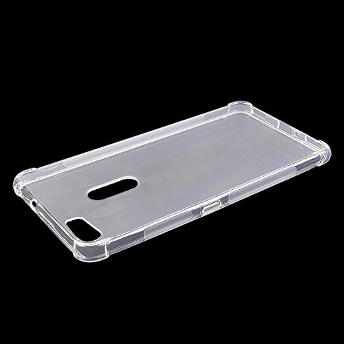 """LIKESEA Premium Soft TPU Silicone Gel Protective Case Cover with Shock-Absorption Function for Asus Zenfone 3 Ultra ZU680KL (6.8"""") - Transparent"""