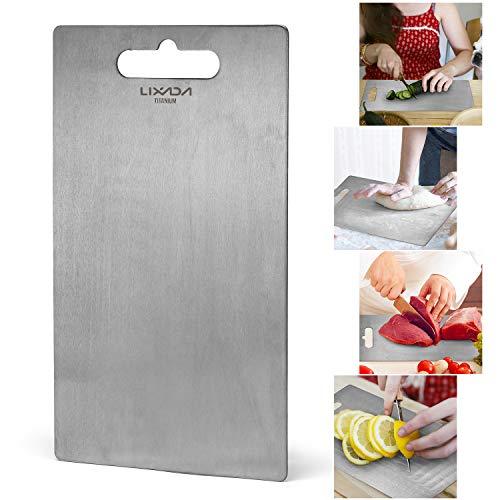 1.8MM Dickes Titan-Schneidebrett für die Küche zu Hause Kochen Outdoor Camping Wandern Rucksack