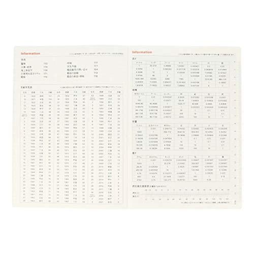 【デルフォニックス手帳2021年版/2020年10月始まり】A5コンソナントダークブルー