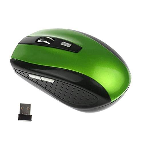Hot 3 DPI réglable sans Fil 2.4G Gaming Mouse 6 Boutons PC Portable PC sans Fil Souris Optique Jeu (Color : 06)