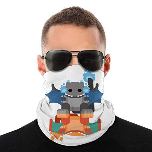 Monster of The Pocket Mega Charizard Variety Head Scarf Face Mask Magic Headwear Neck Gaiter Face Bandana Scarf