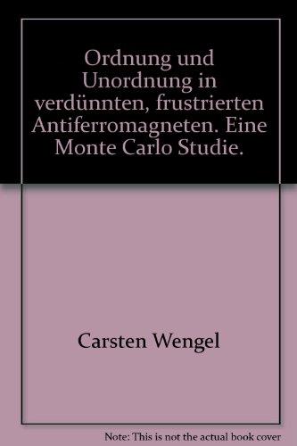 Ordnung und Unordnung in verdünnten, frustrierten Antiferromagneten: Eine Monte Carlo Studie