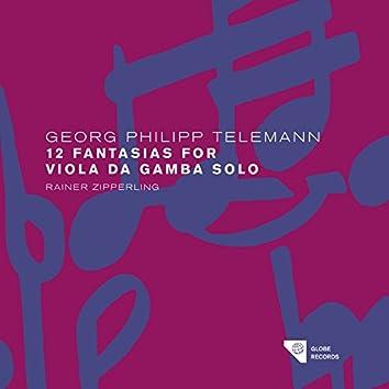 Telemann: The Solo Fantasias Vol. 1