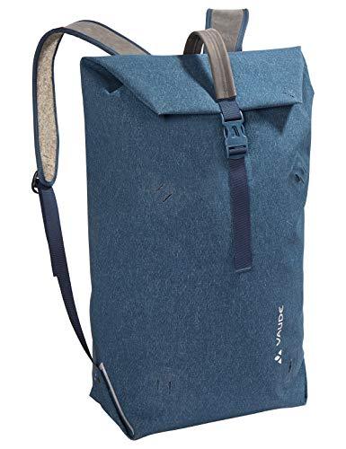 VAUDE Taschen Wolfegg, Nachhaltig innovativer Rucksack für den modernen Alltag, 24l, Huckepack-Funktion mit Egg, baltic sea, one Size, 141443340