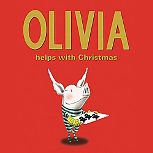 Olivia Helps with Christmas audiobook cover art