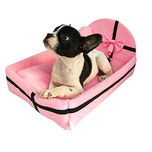 Pet Dog Car Seat Bag Waterproof Dog Mat Basket Folding Hammock Pet Carrier Hanging Bag for Small Dog Cat Safety Travelling Mesh